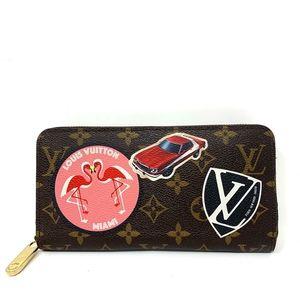 100% Auth Louis Vuitton Zippy Limited Edition